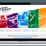 Roland - #WithRoland laptop visual
