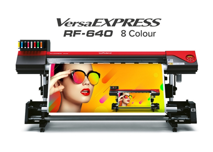 Roland DG launches VersaEXPRESS RF-640 8 Colour eco-solvent printer