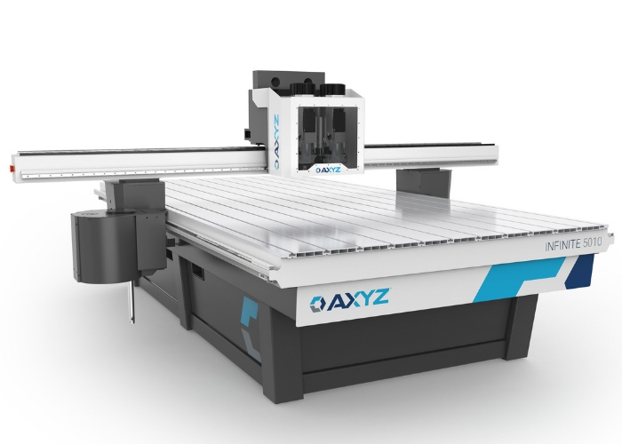 AXYZ Infinite to set new benchmark for multi-purpose CNC routers