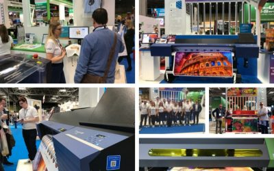 Roland DG Observe the Changing Face of the Print Industry at SDUK