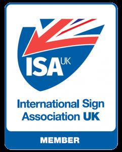 ISA UK Member Badge - Full Member