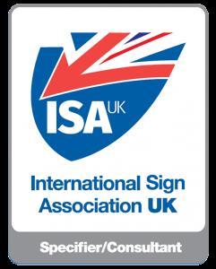 ISA UK Member Badge - Specifier:Consultant