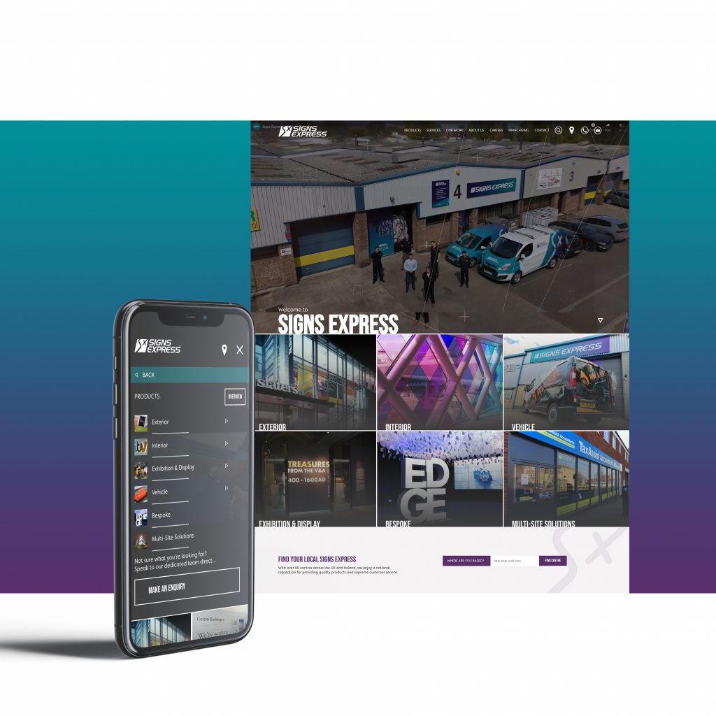 ISA-UK Member Signs Express launch brand new website
